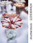 wedding candy bar service.... | Shutterstock . vector #1235304424