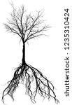 illustration with black large... | Shutterstock .eps vector #1235310424