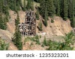 Idarado Mine In The Colorado...