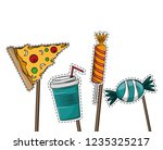 booth prop party elements | Shutterstock .eps vector #1235325217