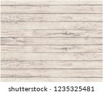 old wood wall with beautiful... | Shutterstock . vector #1235325481