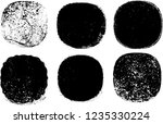 grunge post stamps collection ... | Shutterstock .eps vector #1235330224