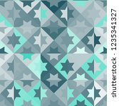 seamless pattern with abstract... | Shutterstock .eps vector #1235341327