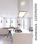 Technological Modern Kitchen In ...