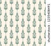 seamless decorative vector... | Shutterstock .eps vector #1235408491