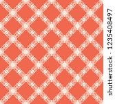 seamless decorative vector... | Shutterstock .eps vector #1235408497