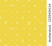 seamless pattern with... | Shutterstock .eps vector #1235434114
