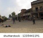 tabernas  almeria spain   08 15 ...   Shutterstock . vector #1235441191