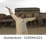 tabernas  almeria spain   08 15 ...   Shutterstock . vector #1235441221