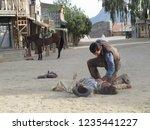 tabernas  almeria spain   08 15 ...   Shutterstock . vector #1235441227