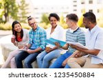 education  international and... | Shutterstock . vector #1235450884