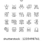 international hug day well... | Shutterstock .eps vector #1235498761