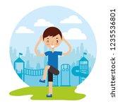 kid good habits    Shutterstock .eps vector #1235536801