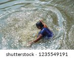 kolkata  india 16 january 2018  ... | Shutterstock . vector #1235549191