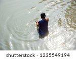 kolkata  india 16 january 2018  ... | Shutterstock . vector #1235549194