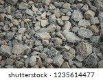 gabion protective wall | Shutterstock . vector #1235614477