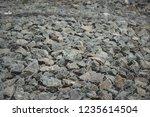 gabion protective wall | Shutterstock . vector #1235614504
