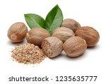 Nutmeg Granules And Nutmegs...