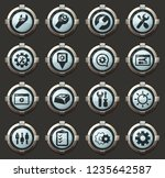 settins vector icons in the... | Shutterstock .eps vector #1235642587