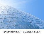 building structures aluminum... | Shutterstock . vector #1235645164