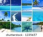 Tropical Scenes - stock photo
