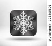 abstract christmas snowflake...