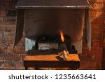 forge fire forge fire used for... | Shutterstock . vector #1235663641