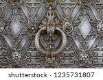 detail of a castle door   Shutterstock . vector #1235731807