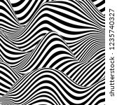 optical illusion lines... | Shutterstock .eps vector #1235740327