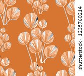 creative seamless pattern with... | Shutterstock . vector #1235760214
