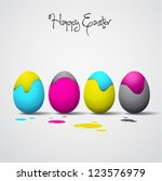 Funny Easter Eggs   Cyan ...