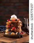 French Toast Stacked High And...