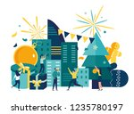 vector illustration ... | Shutterstock .eps vector #1235780197