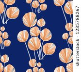 creative seamless pattern with... | Shutterstock . vector #1235788267
