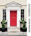 Front Door Of A Beautiful...