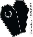 coffin logo simple | Shutterstock .eps vector #1235845327