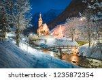 beautiful twilight view of... | Shutterstock . vector #1235872354