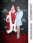 los angeles   nov 18   santa... | Shutterstock . vector #1235884447