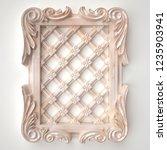 3d rendering beautiful marble...   Shutterstock . vector #1235903941