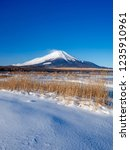 mt fuji  in the early morning....   Shutterstock . vector #1235910961