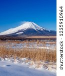 mt fuji  in the early morning....   Shutterstock . vector #1235910964