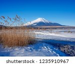 mt fuji  in the early morning....   Shutterstock . vector #1235910967