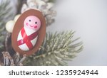 nativity and christmas season... | Shutterstock . vector #1235924944