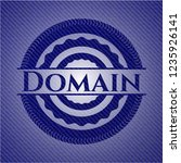 domain jean or denim emblem or...   Shutterstock .eps vector #1235926141