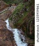 beautiful rivers between... | Shutterstock . vector #1235959861