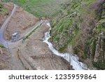 beautiful rivers between... | Shutterstock . vector #1235959864