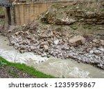 beautiful rivers between... | Shutterstock . vector #1235959867