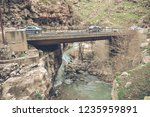 beautiful rivers between... | Shutterstock . vector #1235959891