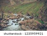 beautiful rivers between... | Shutterstock . vector #1235959921