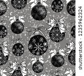 vector seamless pattern with... | Shutterstock .eps vector #1235962324